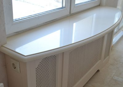 Quartz window sill